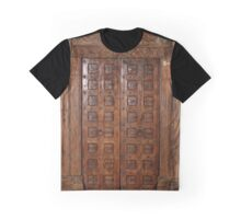 Old door from a hindu temple Graphic T-Shirt