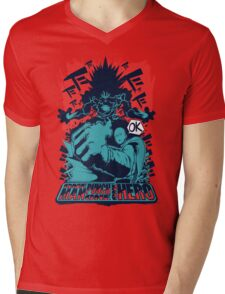 One man, one punch, one HERO. Mens V-Neck T-Shirt