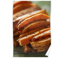 Sweet potato chips Poster
