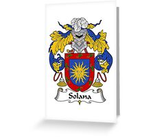 Silano Coat of Arms/Family Crest Greeting Card