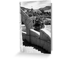 Scotty's Castle, Death Valley Nat'l Park Greeting Card