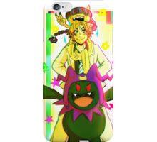 Shijima Daichi, Obariyon and Black Frost iPhone Case/Skin