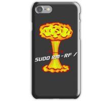 Sudo rm -rf / iPhone Case/Skin