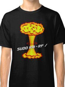 Sudo rm -rf / Classic T-Shirt