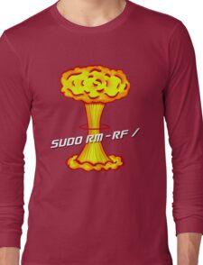 Sudo rm -rf / Long Sleeve T-Shirt