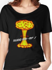 Sudo rm -rf / Women's Relaxed Fit T-Shirt