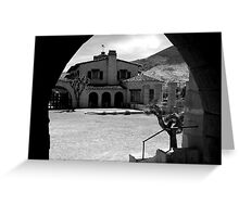 Scotty's Castle, Death Valley Greeting Card
