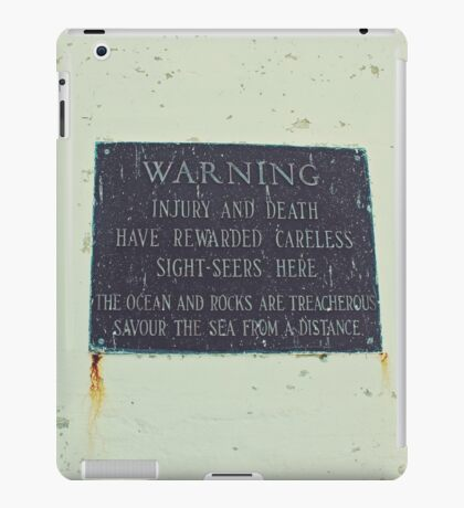 Treacherous iPad Case/Skin