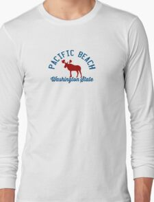 Pacific  Beach - Washington. Long Sleeve T-Shirt