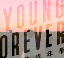 YOUNG FOREVER - BTS  Sticker