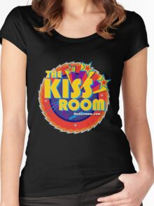 THE KISS ROOM! Women's Fitted Scoop T-Shirt