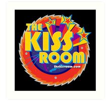 THE KISS ROOM! Art Print