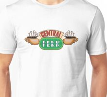 Friends - Central Perk Chrome Green Logo Unisex T-Shirt