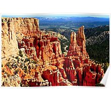 Amazing Bryce Canyon In Utah Poster
