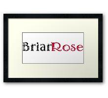 Briar Rose Framed Print