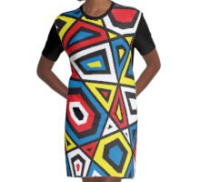 PRIMARY Graphic T-Shirt Dress