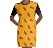 Cockroaches Graphic T-Shirt Dress