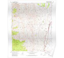 USGS TOPO Map Arizona AZ Bumble Bee 310649 1969 24000 Poster