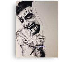 Frank Iero Canvas Print