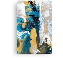 Teal Abstract Canvas Print