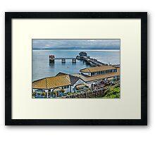 Mumbles Pier 1 Framed Print