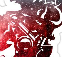 Final Fantasy VI logo universe Sticker