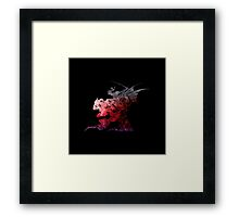 Final Fantasy VI logo universe Framed Print