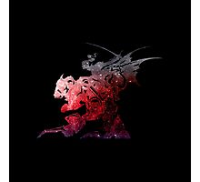 Final Fantasy VI logo universe Photographic Print