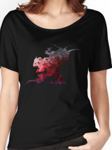 Final Fantasy VI logo universe Women's Relaxed Fit T-Shirt