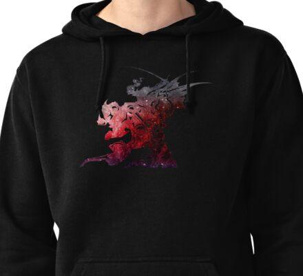 Final Fantasy VI logo universe Pullover Hoodie