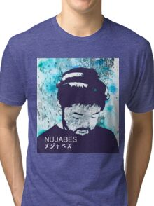 Calm Nujabes  Tri-blend T-Shirt