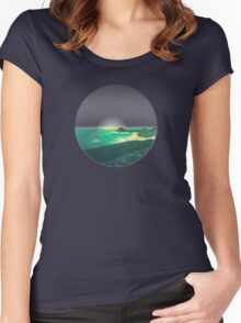 House by the Sea Women's Fitted Scoop T-Shirt