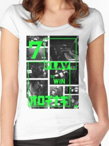 Arcades - Play to Win 2 Women's Fitted Scoop T-Shirt
