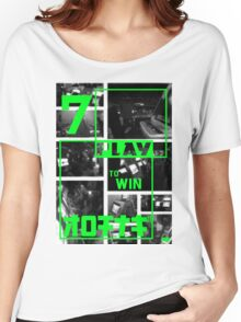 Arcades - Play to Win 2 Women's Relaxed Fit T-Shirt
