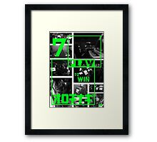 Arcades - Play to Win 2 Framed Print