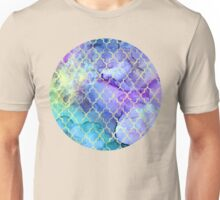 Watercolor and Ink Moroccan  Pattern Unisex T-Shirt