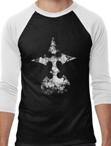 Kingdom Hearts Nobody grunge Men's Baseball ¾ T-Shirt