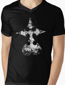 Kingdom Hearts Nobody grunge Mens V-Neck T-Shirt