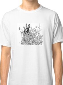 Hare in a field Classic T-Shirt