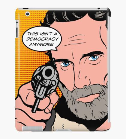 Rick Pop-Art iPad Case/Skin