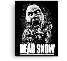 DEAD SNOW Canvas Print
