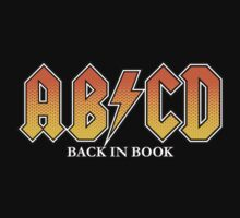 ABCD Back In Book Kids Tee