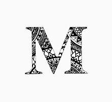 M Letter, Mandala Letter, Name, Personal, Mandala Unisex T-Shirt