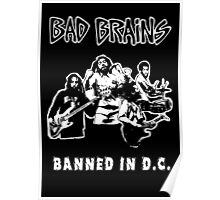 Bad Brains (Banned in D.C.) Poster