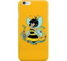 Bee Fairy and Cat iPhone Case/Skin