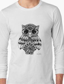 Mandala Owl Long Sleeve T-Shirt