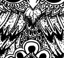 Mandala Owl Sticker