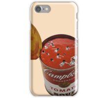 flies in my soup iPhone Case/Skin