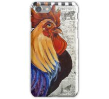 Rainbow Rooster iPhone Case/Skin