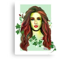 The Lady of Plants Canvas Print